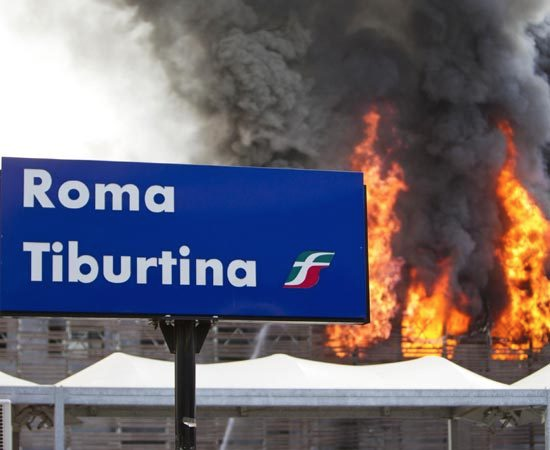 incendio tiburtina
