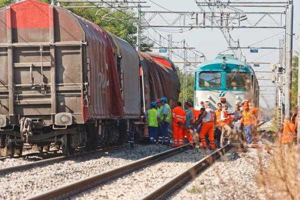 Deragliamento treno merci Istrana-Treviso 27-92011